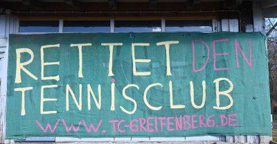 Bild Rettet den Tennisclub Greifenberg